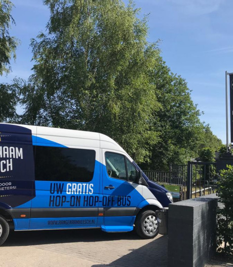 'Hop-On Hop-Off' bus Heesch gaat 31 juli rijden