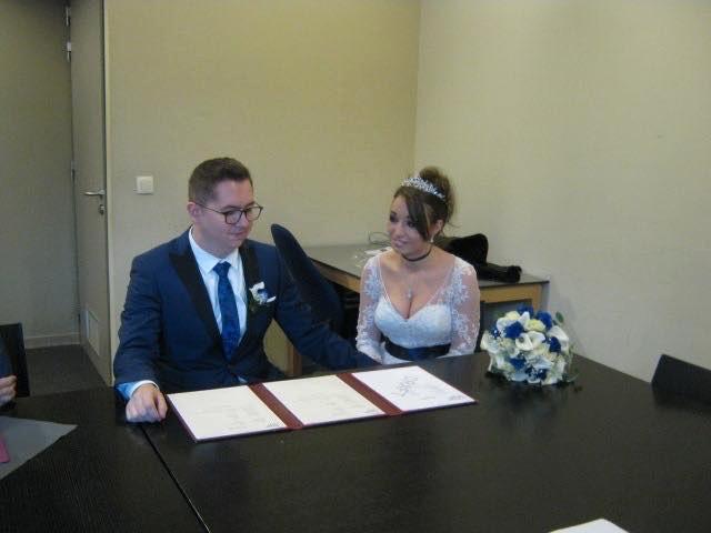 Kristel en Mike trouwden eind vorig jaar in de gevangenis van Hasselt.