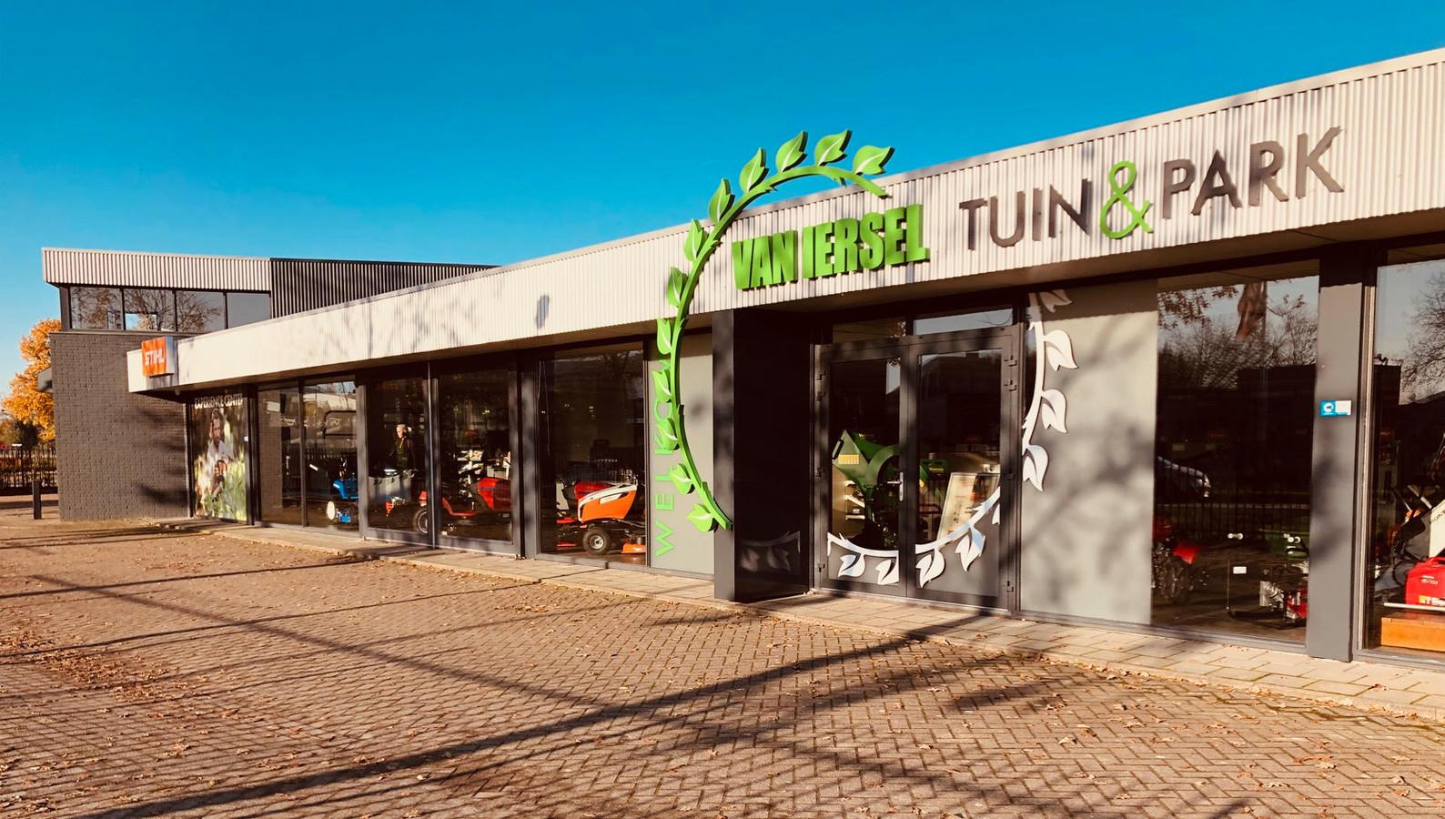 Van Iersel Tuin & Park is gevestigd aan de Bedrijfsweg in Oisterwijk
