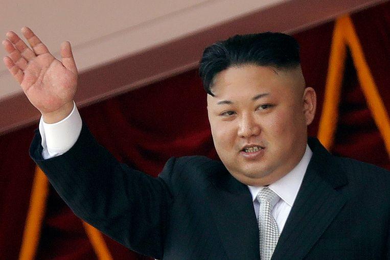Noord-Koreaans leider Kim Jong-un. Beeld AP