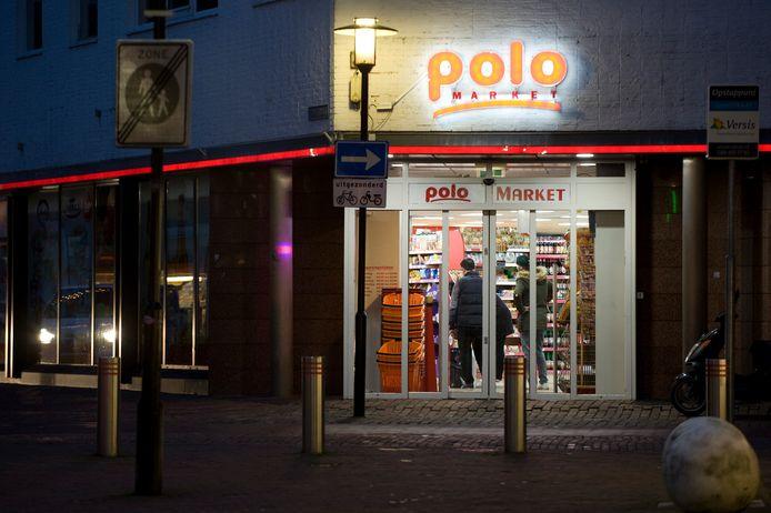 De Poolse supermarkt aan de Damstraat in Tiel.