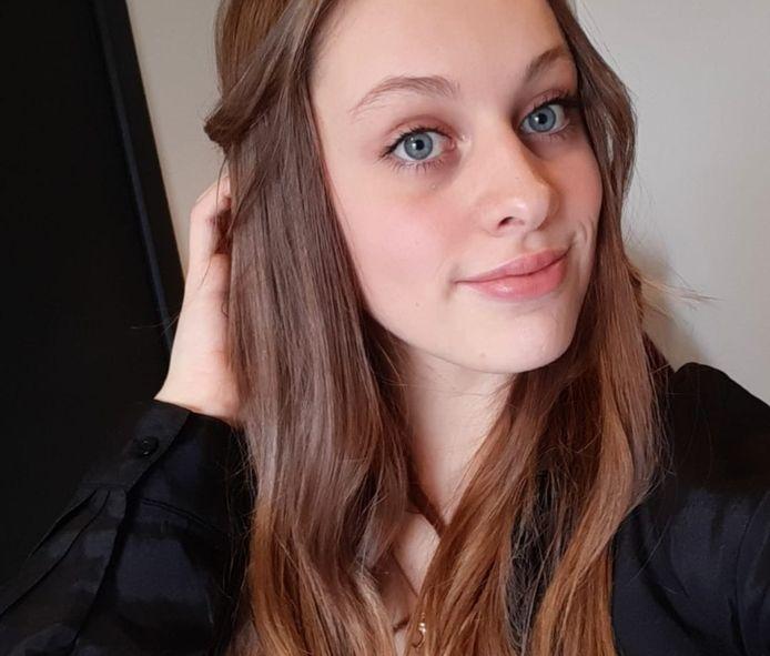 Haar ogen leveren Alexine regelmatig complimenten op.