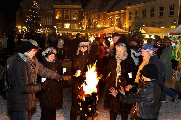 Candlelight Shoppen in Heusden is al jaren een traditie.