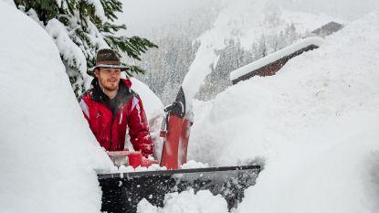 Vier keer zoveel regen en sneeuw in Alpen