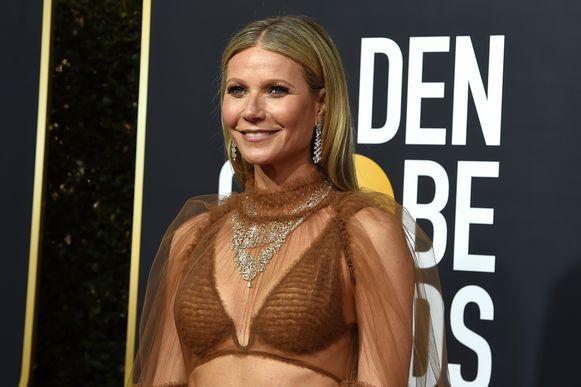 Gwyneth Paltrow op de Golden Globe Awards vorige week.