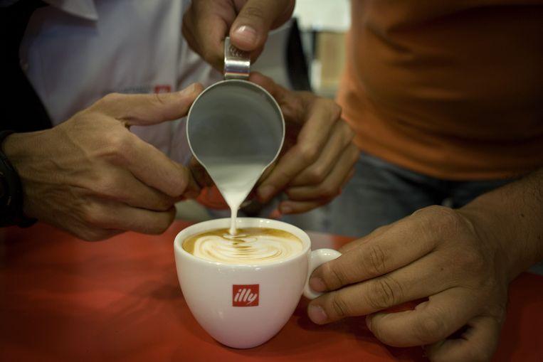 Een cappuccino in de maak. Beeld HH/ANP