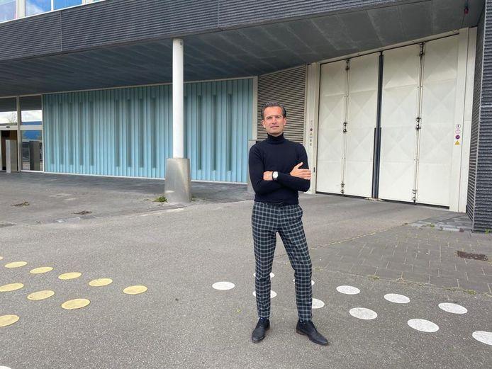 Directeur Roger Pellemans voor het detentiecentrum in Rotterdam.