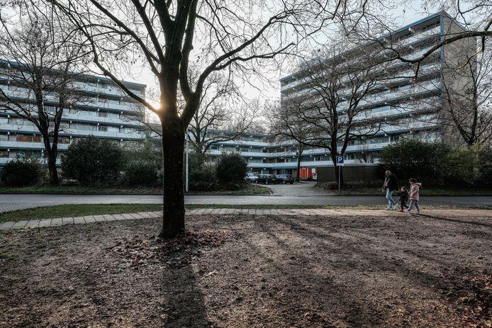 Flats in de wijk Overstegen in Doetinchem. Archieffoto: Jan Ruland van den Brink