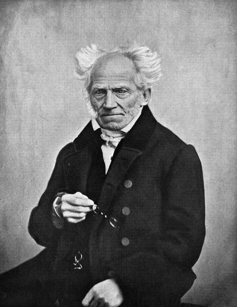 Arthur Schopenhauer. Beeld Getty Images