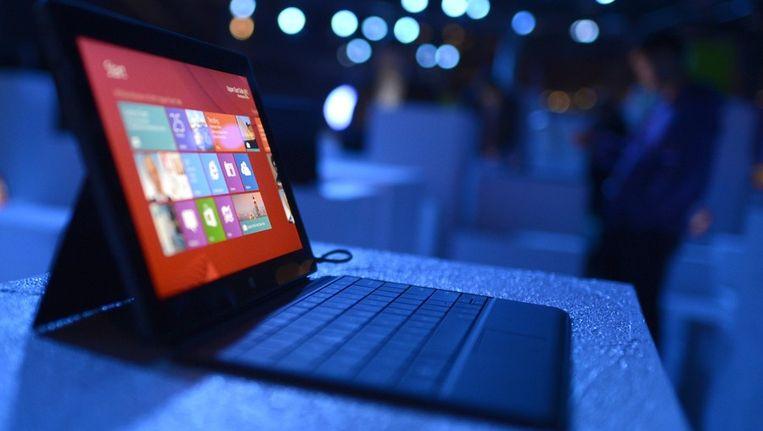 Een tablet met WIndows 8 Beeld AFP