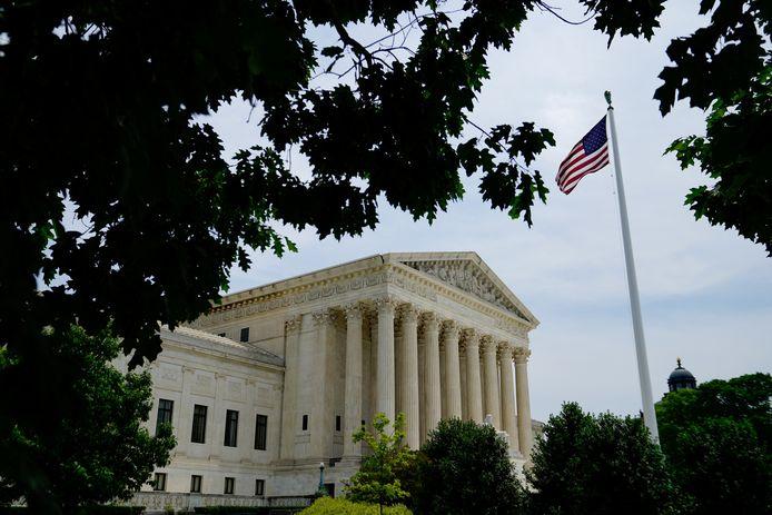 Het Supreme Court in Washington DC.