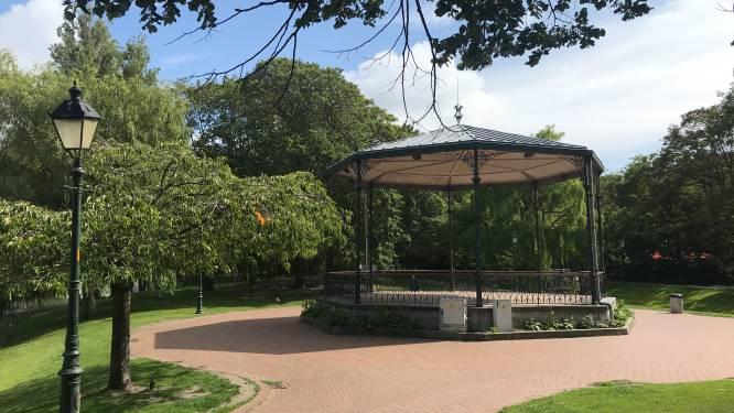 Vluchtelingen opgepakt in Leopoldpark