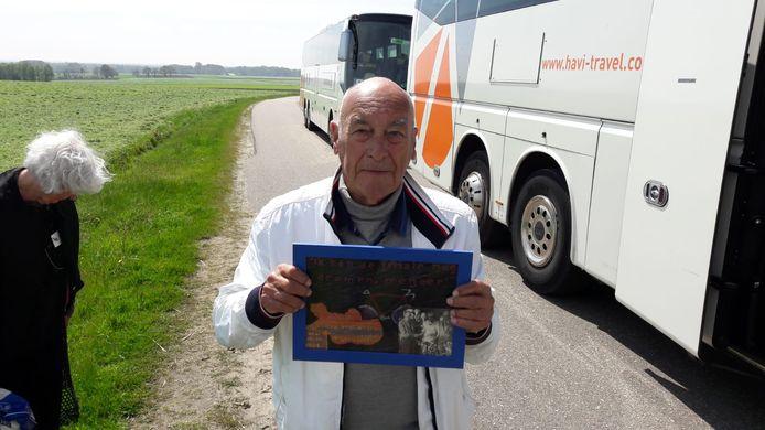 Piet Smit tijdens als VIP tijdens de Ronde van Overijssel in 2017.