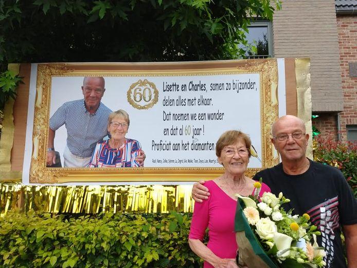 Lisette en Charles zijn 60 jaar getrouwd!