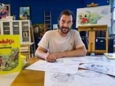 Illustrator Arne trots op uitgave eerste Pinkeltje prentenboek: 'Klein mannetje met groot rechtvaardigheidsgevoel'