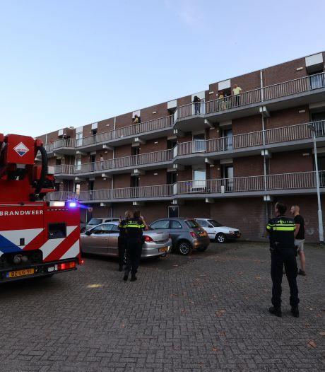 Brand op derde verdieping van flat in Eindhoven snel geblust