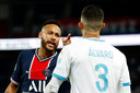 In september hadden Neymar en Álvaro González het al met elkaar aan de stok. De Braziliaan claimde dat de Spanjaard hem racistisch zou hebben bejegend.