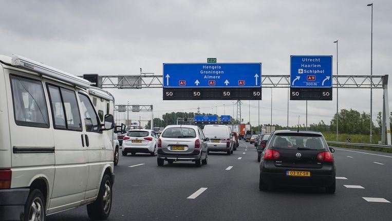 Verkeer wordt aangeraden om te rijden via Utrecht Beeld anp