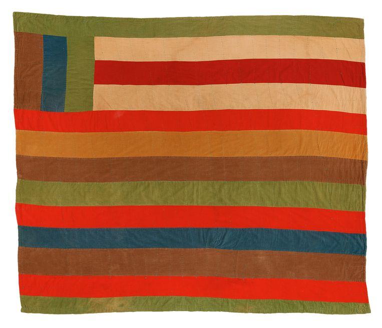 Arcola Pettway: Quilt. Beeld Stephen Pitkin / Souls Grown Deep Foundation