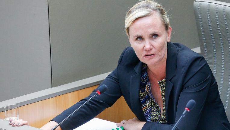 Liesbeth Homans (N-VA). Beeld BELGA