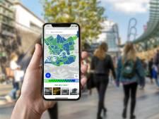Te druk in de stad? Deze app laat zien of je coronaproof kunt shoppen of stappen