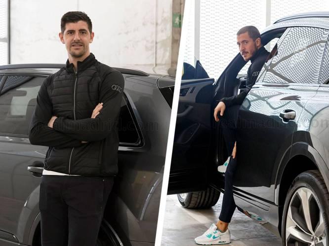 Real-sterren mogen nieuwe bolides kiezen, ook Courtois en Hazard pronken met hun Audi's