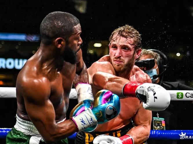 """YouTube-ster Paul overleeft clash met bokslegende Mayweather: """"Hij is beter dan ik dacht"""""""