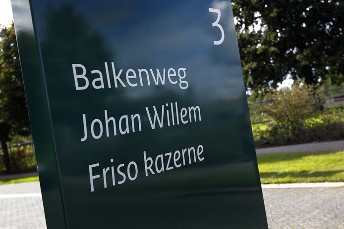 De Johan Willem Friso kazerne.