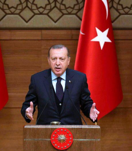 President Erdogan wilde zelf campagne voeren in Amsterdam