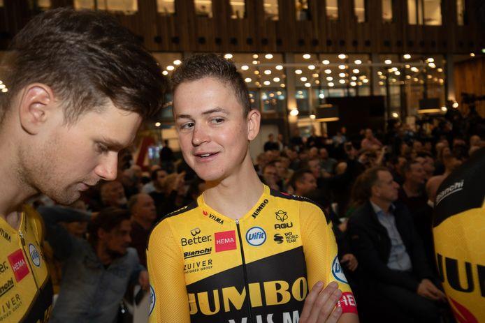 10-12-2019: Wielrennen: Teampresentatie Jumbo Visma: Amsterdam  Antwan TOlhoek