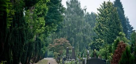 Enschedese familie houdt de wacht bij vernield graf en grijpt de dader