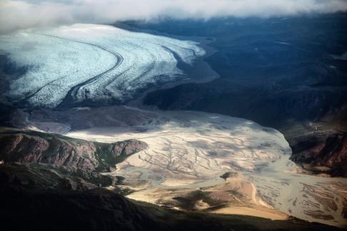 Foto van De sombere schoonheid van de Noordpool