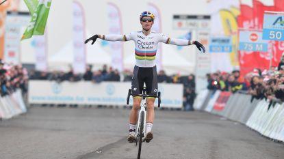 HERBELEEF de beklijvende strijd om de Belgische titel, met Wout van Aert als logische winnaar