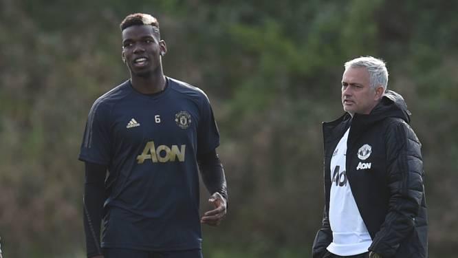 """Tussen Pogba en Mourinho komt het nooit meer goed: """"Hij keert zich tegen zijn eigen spelers en doet daarna alsof ze niet meer bestaan"""""""