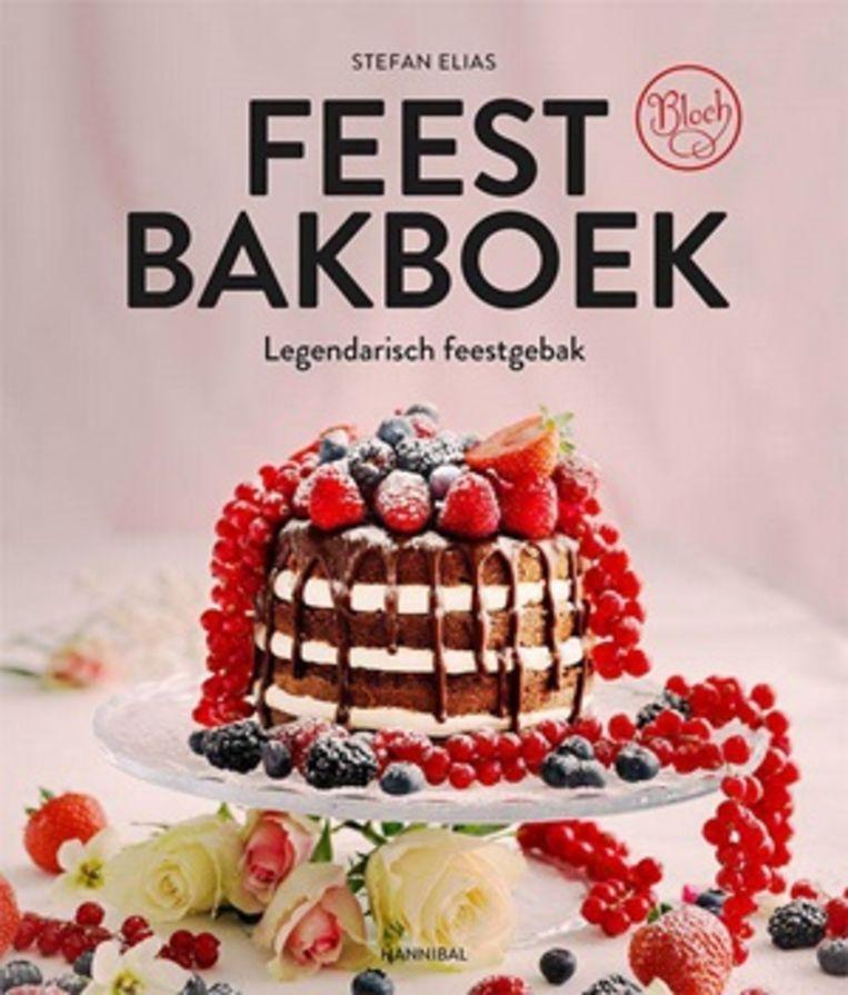 'Feestbakboek', Stefan Elias, Hannibal Books, 272 p's, 39,50 euro.  Beeld rv