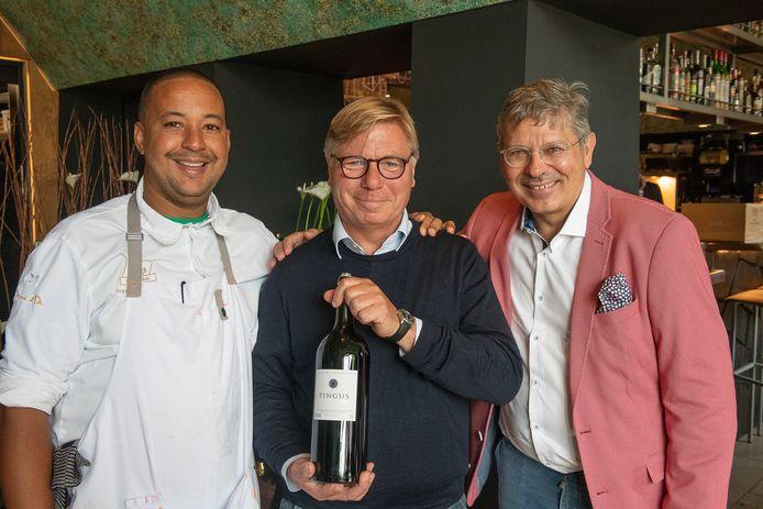 François Geurds, Peter Sisseck en Henk Maas.