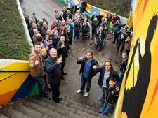 Foto's moeten herinnering aan kunstproject bij fietstunnel Etten-Leur hoog houden