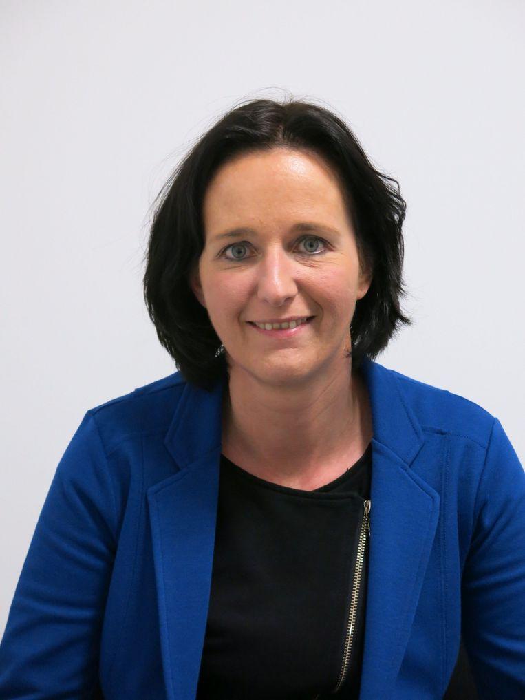 Anne Groenen: 'Uit een onderzoek bij 100 vrouwen die maandenlang partnergeweld ondergingen, bleek dat psychisch geweld even ernstige gevolgen kan hebben als een vliegtuigkaping.' Beeld RV