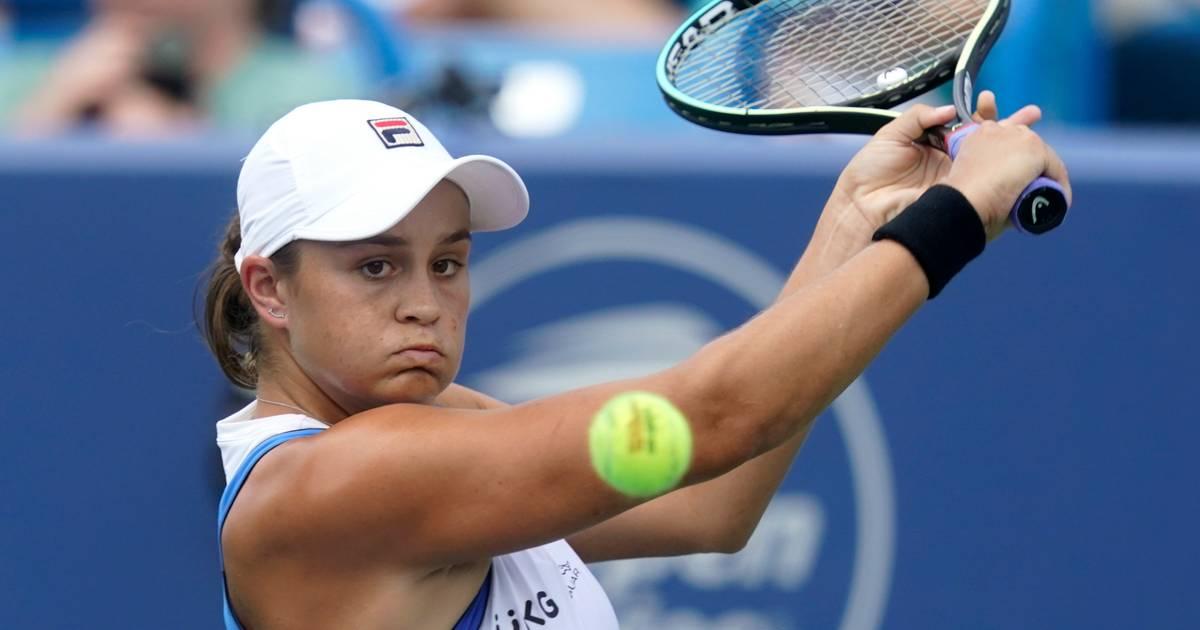 Image Barty meldt zich af voor WTA Finals en beëindigt tennisseizoen
