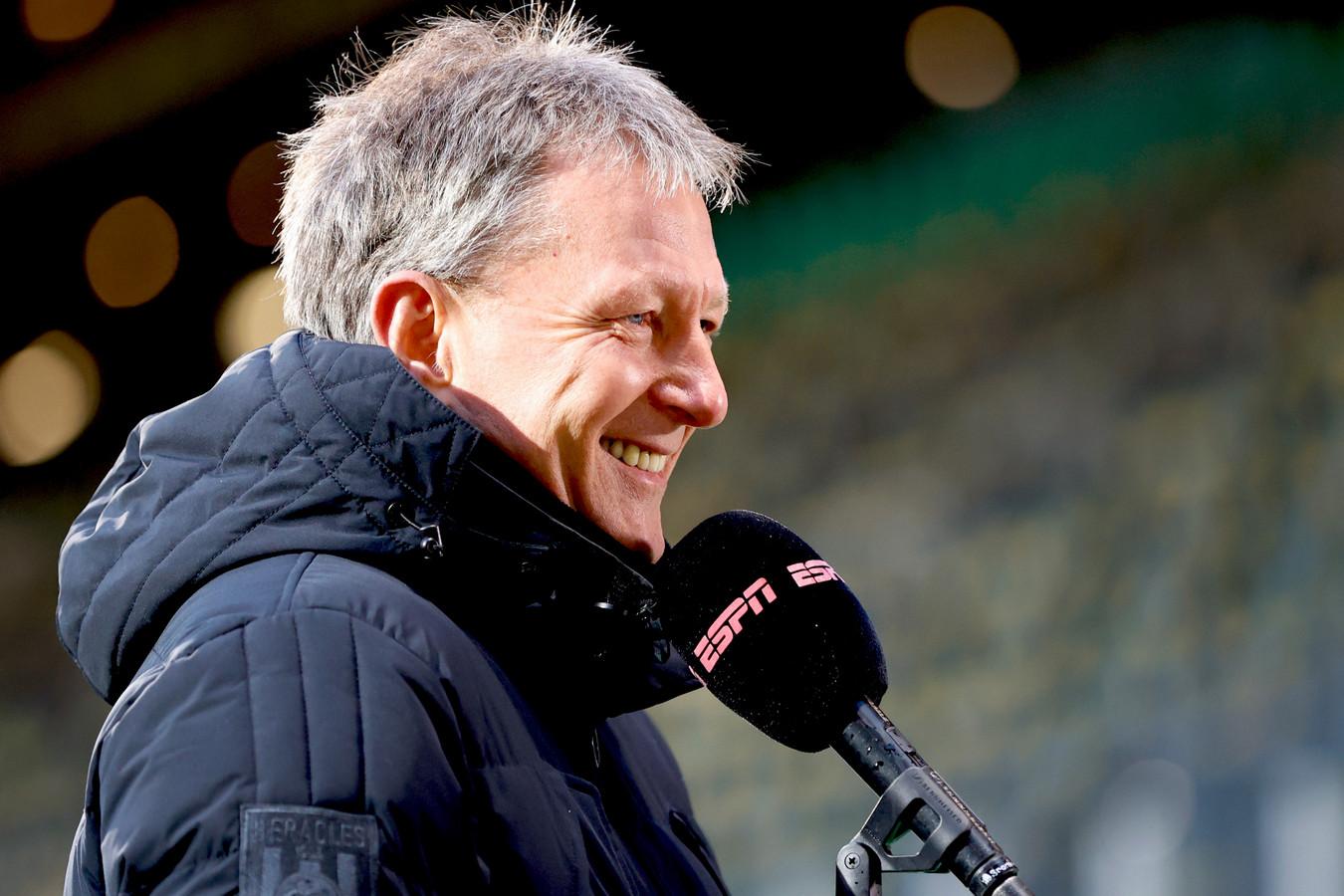 Frank Wormuth wil het nog niet over de play-offs hebben, het is nog te ver weg.