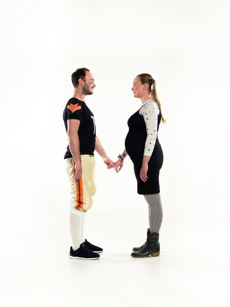 Saskia Kolman en Tim van Kessel. Beeld Eva Roefs