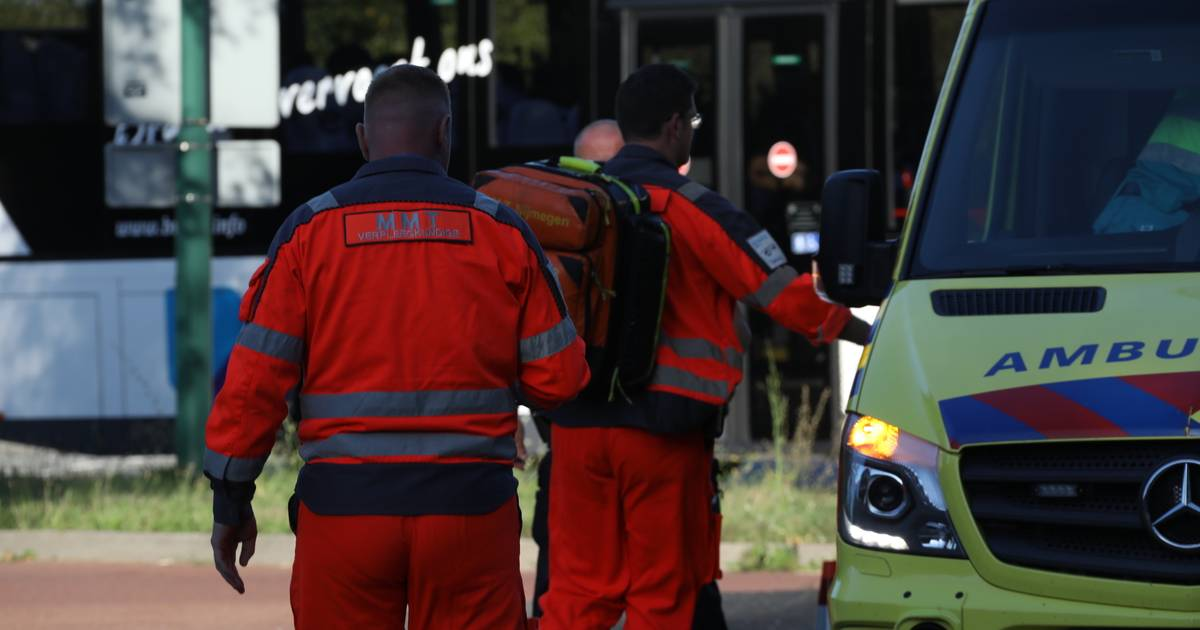 Fietser gewond na aanrijding in Oss.