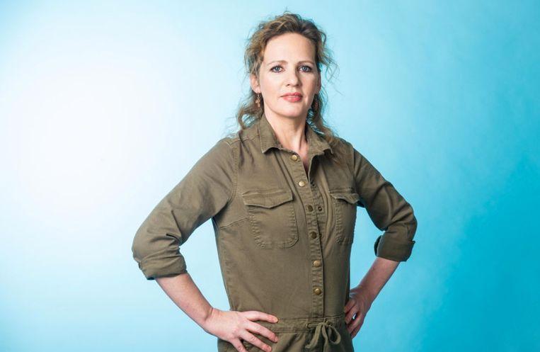 Maaike Cafmeyer in 'Vandaag Over Een Jaar'.