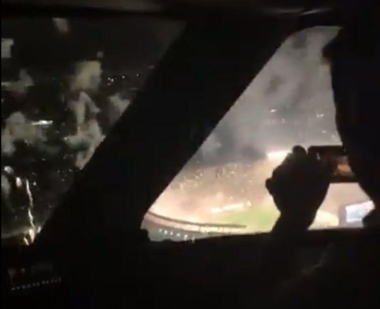 Stil beeld uit de video van de piloten
