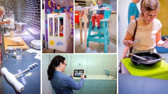 La Maison des géants s'installe à Liège pour  sensibiliser les familles aux risques d'accidents domestiques