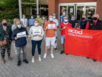 Prikactie aan OCMW-rusthuis tegen privatisering welzijnszorg