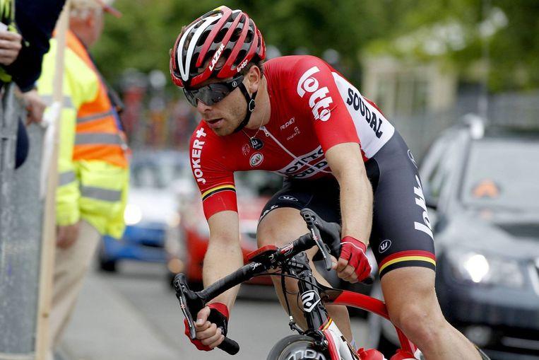 De snelle benen van Kris Boeckmans kunnen ook op Franse wegen een troef zijn. Beeld PHOTO_NEWS