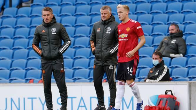 Van de Beek blijft bij United; Solksjaer houdt tijdelijke overstap naar Everton tegen