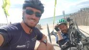 Avonturiers Frank en Jelle reizen met de handbike van Carcassonne naar Gibraltar