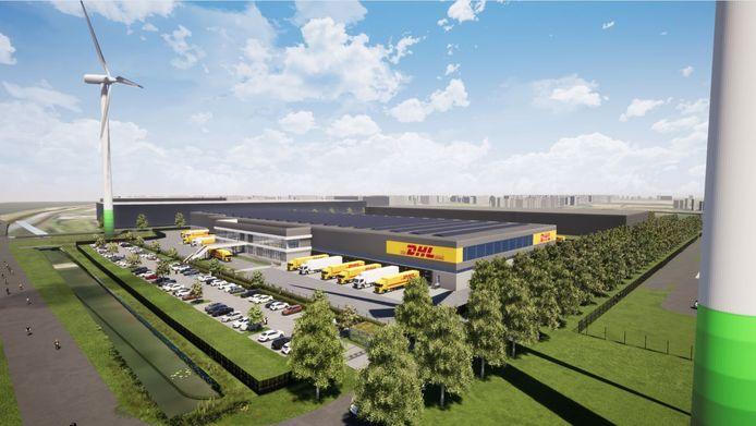 DHL bouwt in Dordrecht het groenste sorteercentrum van Nederland, beweert CEO Wouter van Benten.